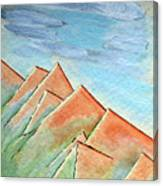 Coastal Range Canvas Print