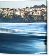 Coastal Scenes At Usa Pacific Coast Canvas Print