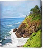 Coastal View From North Head Canvas Print