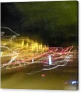 Coaster Of Lights Canvas Print