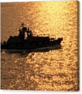 Coastguard Vessel Canvas Print