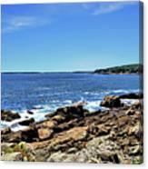 Coastline At Otter Point 5 Canvas Print