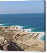 Coastline In The Desert Canvas Print