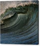 Cobalt Wave Canvas Print