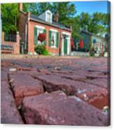 Cobble Stone Canvas Print