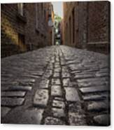 Cobbled Alley Canvas Print