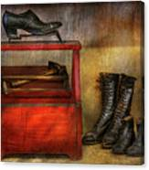 Cobbler - Life Of The Cobbler Canvas Print