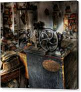 Cobbler's Shop Canvas Print