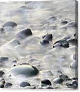 Cobbles In The Mist Canvas Print