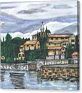 Cobblestone Cove Canvas Print
