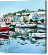 Cobh Harbour County Cork Canvas Print