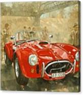 Cobra At Brooklands Canvas Print