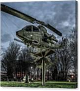 Cobra Helicopter Bristol Va Canvas Print