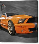 Cobra Power - Shelby Gt500 Mustang Canvas Print