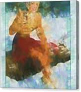 Coca Cola 1941 Canvas Print