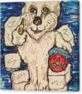 Coca Cola Bear Canvas Print
