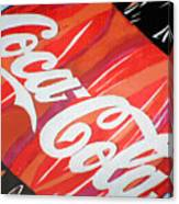 Coca Cola Fan Art Canvas Print