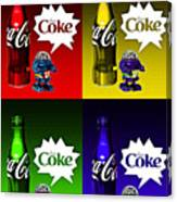 Coca-cola Forever Young 12 Canvas Print
