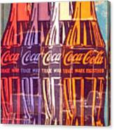 Coca Cola Newspaper Art Pop Art Pur Serie Canvas Print