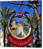Coca Cola Oasis Coolers Canvas Print