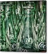 Coca Cola So Many Bottles Canvas Print