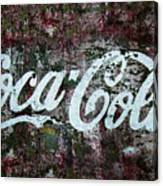 Coca Cola Wall Canvas Print