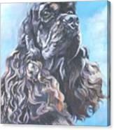 Cocker Spaniel 2 Canvas Print