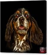 Cocker Spaniel Pop Art - 8249 - Bb Canvas Print