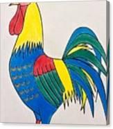 Cockerel 2 Canvas Print