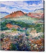 Cockscomb Butte Sedona Arizona Usa 2003  Canvas Print