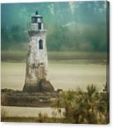 Cockspur Island Light Canvas Print