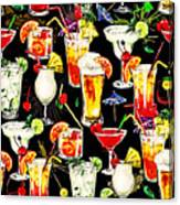 Cocktail Hour In The Tropics Canvas Print