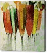 Cocktail Impression Canvas Print