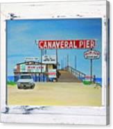 Cocoa Beach/cape Canaveral Pier Canvas Print