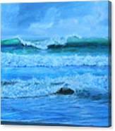 Cocoa Beach Surf Canvas Print