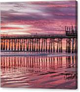Cocoa Pier Sunrise Canvas Print