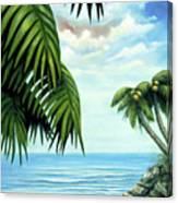 Coconut Cove Canvas Print