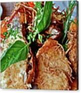 Coconut Shrimp Canvas Print