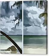 Coconut Tree Canvas Print