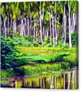 Coconuts Trees Canvas Print