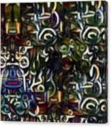 Coctails At Five Canvas Print