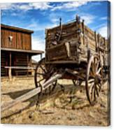 Cody Wagon Train Canvas Print