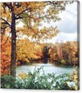 Coe Lake Fall Series 1a Canvas Print