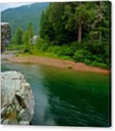 Coeur D'alene River Canvas Print