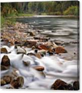 Coeur D'alene River Canvas Print
