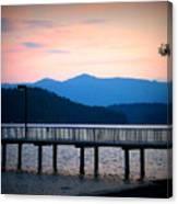 Coeur D'alene Sunset Canvas Print