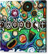 Coexisting With Coffee And Donuts Canvas Print