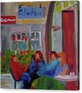 Coffe House Canvas Print