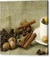 coffee beans Still Life Canvas Print