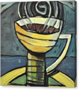 Coffee Cup Three Canvas Print